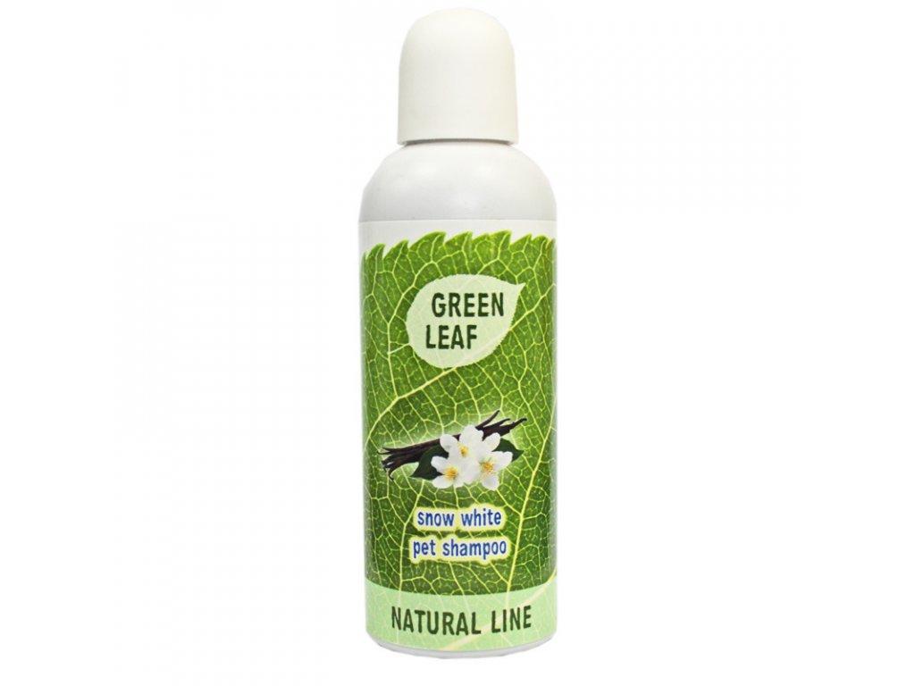 BIO sampon pre psy s bielou srtsou Green Leaf