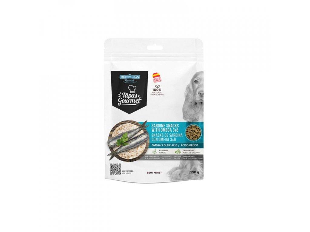 pamlsky pre psa ryby sardinky