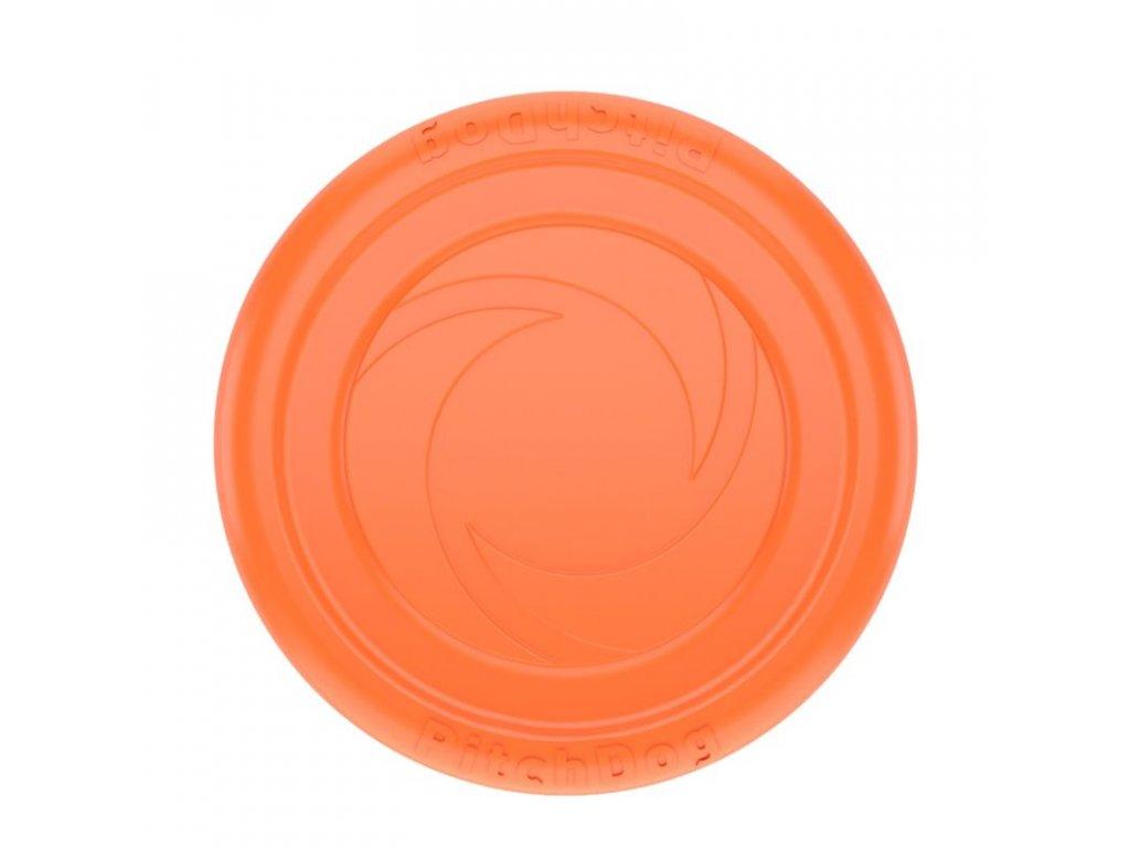 lietajúci tanier oranzovy plavajuci