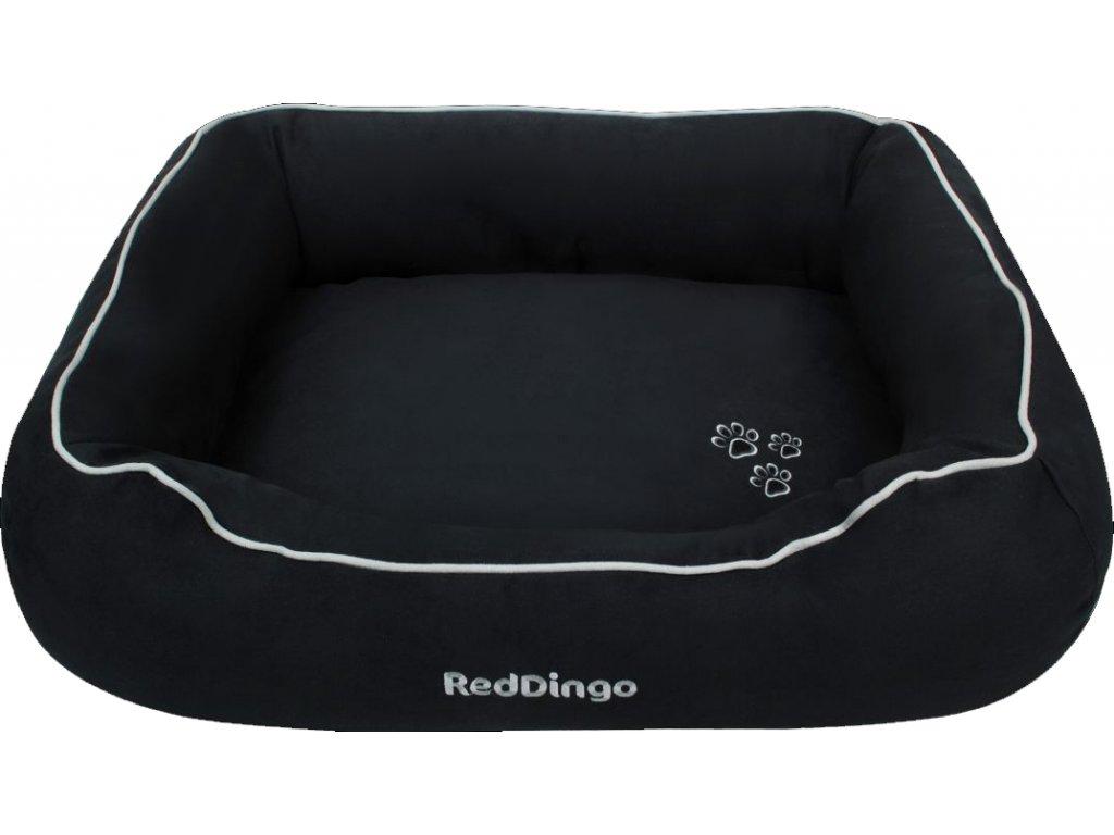 Kvalitný pelech pre psa Red Dingo čierny