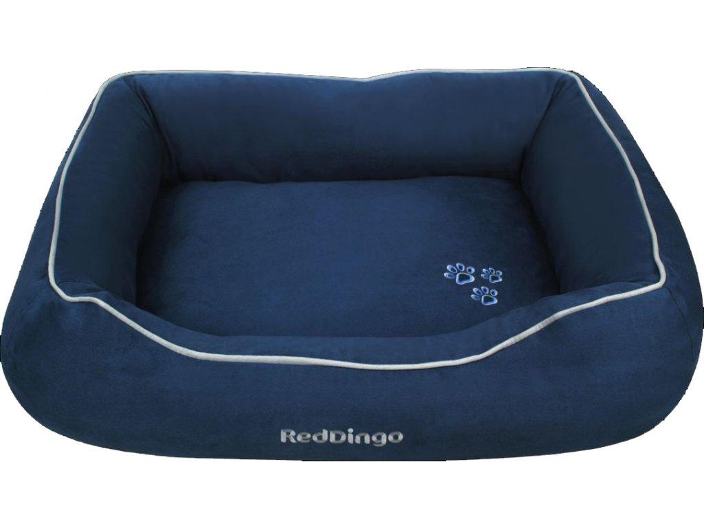 Kvalitný pelech pre psa Red Dingo modrý
