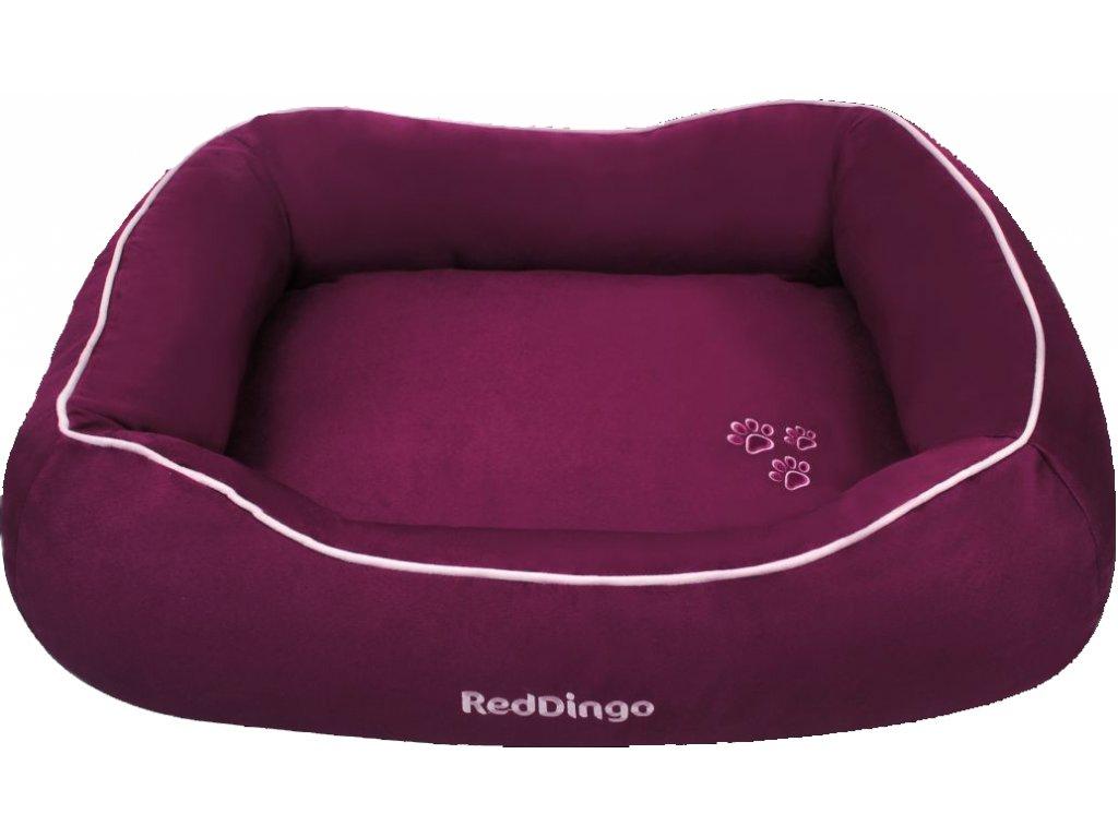 Kvalitný pelech pre psa Red Dingo fialový