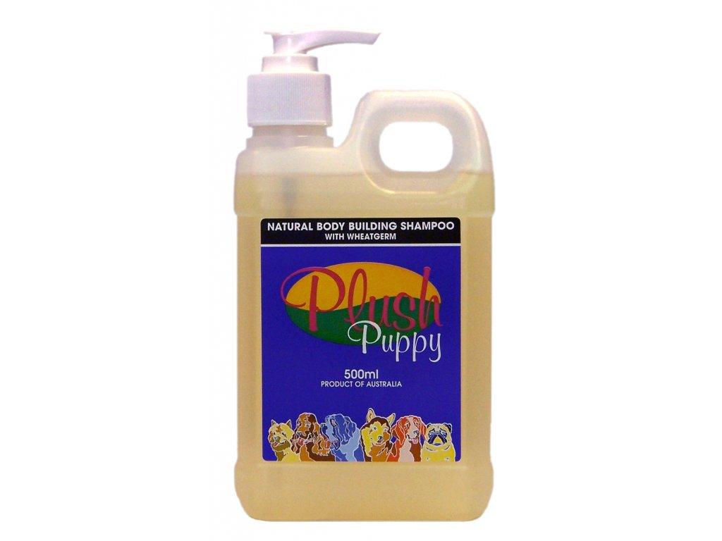 Prírodný šampón Natural Body Building Shampoo 500ml