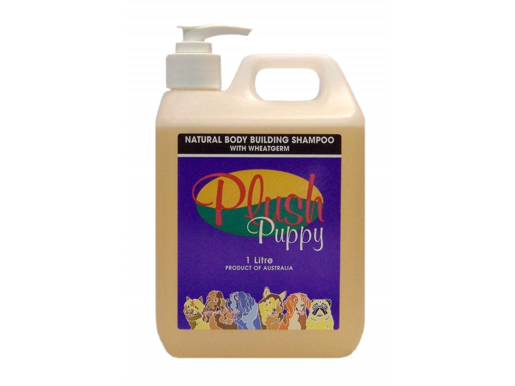 Prírodný šampón Natural Body Building Shampoo 1l