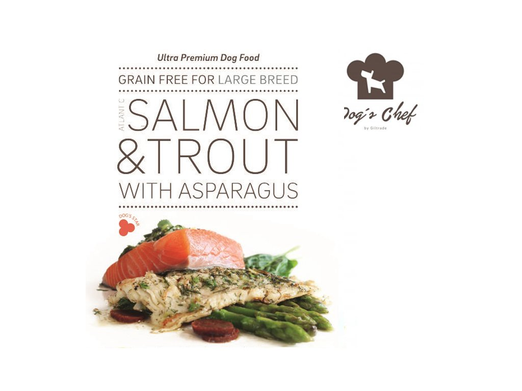 Atlantic Salmon & Trout with asparagus granule LARGE BREED