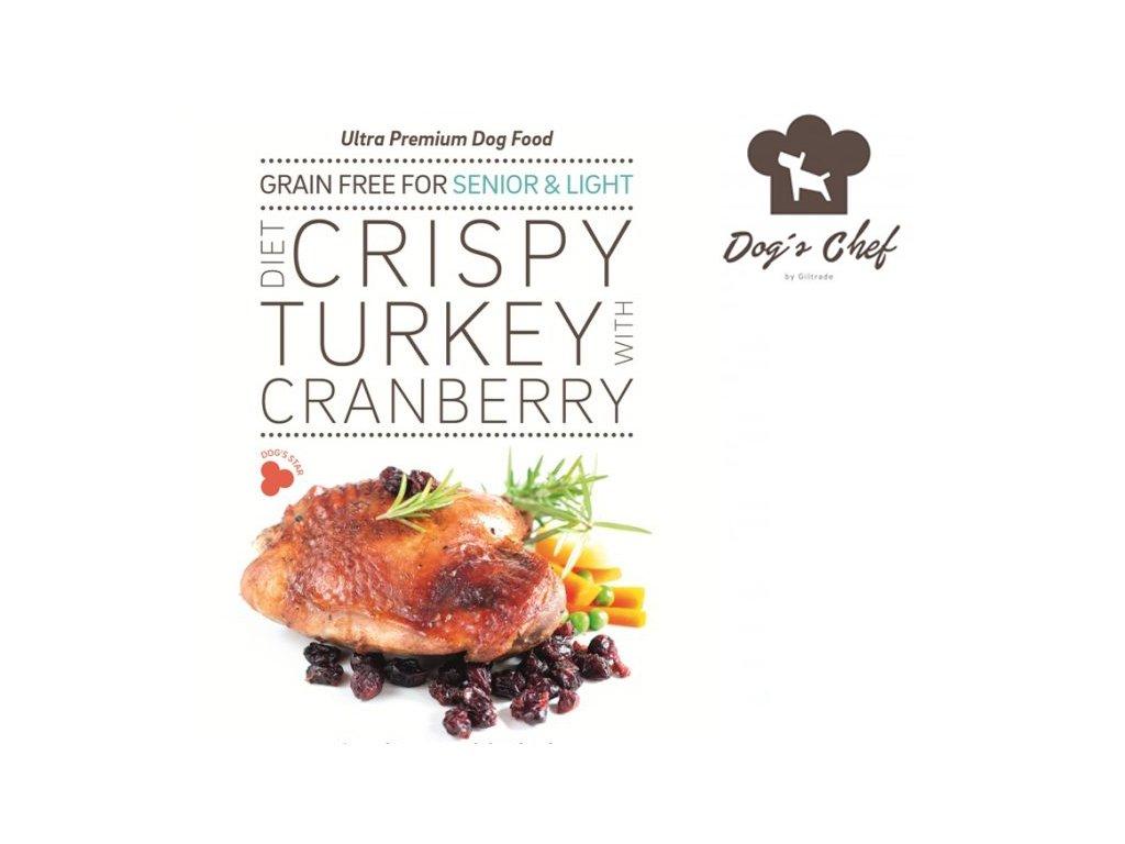 Dogschef Crispy turkey