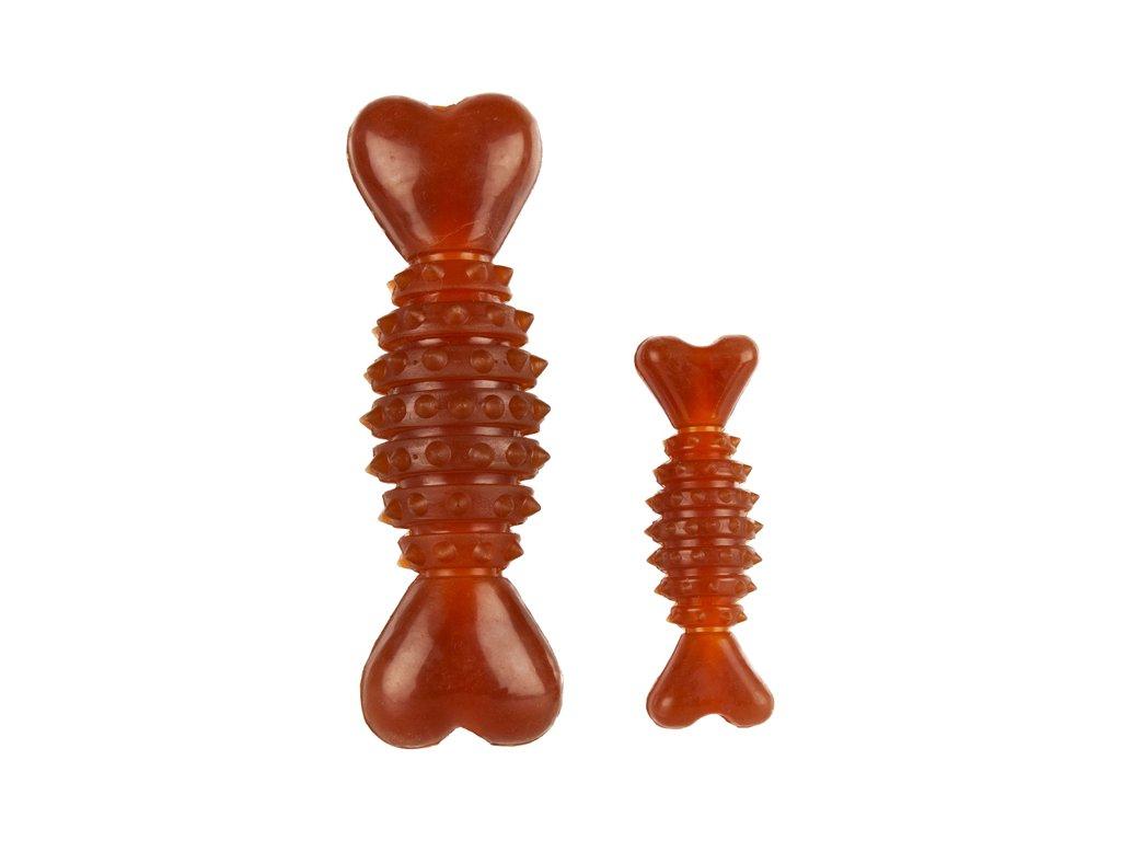 hrčka kosť pre psa zo 100% gumy