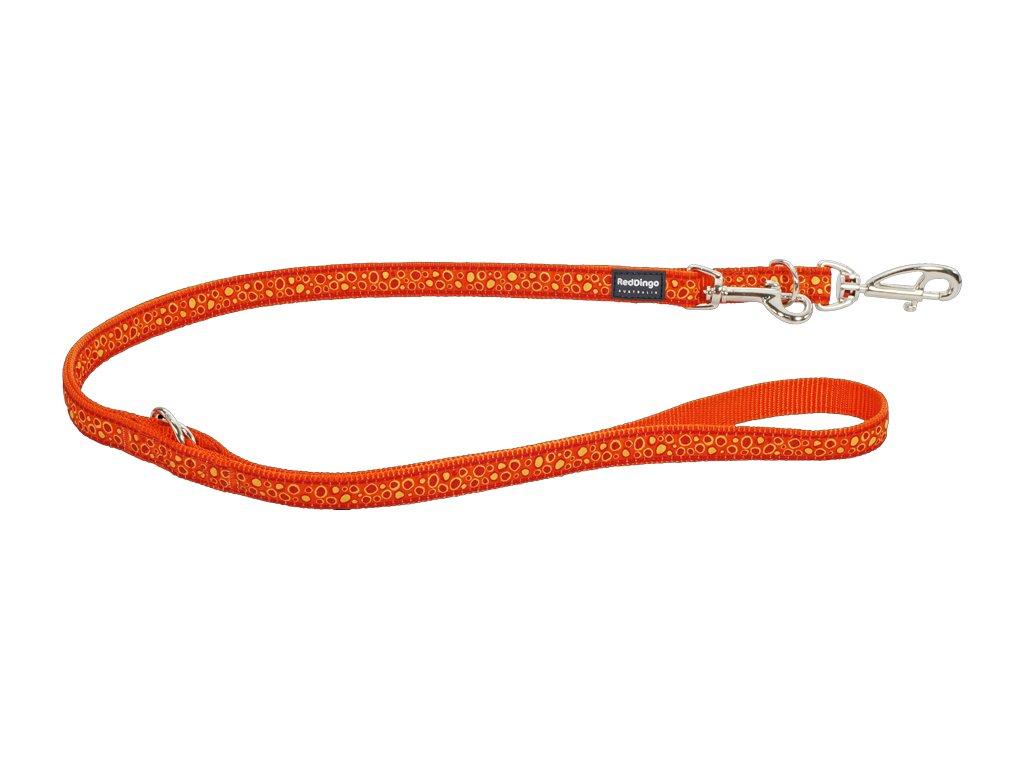 Prepínacie vodítko Red Dingo Bedrock oranžové