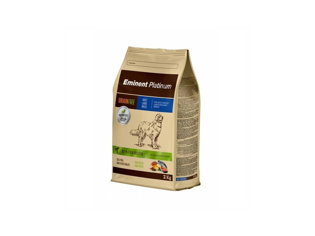 eminent platinum adult large breed 2kg