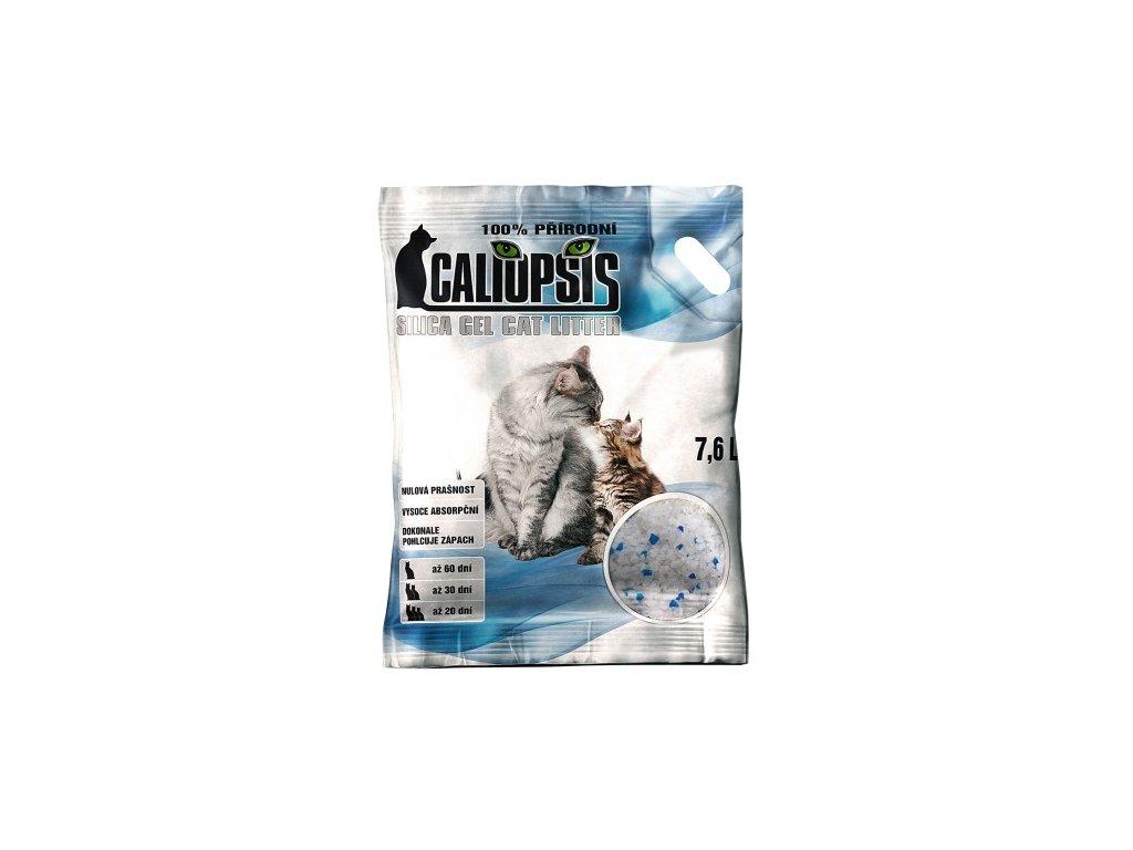 Podstieľka pre mačky Caliopsis - Silica gel 7.6l