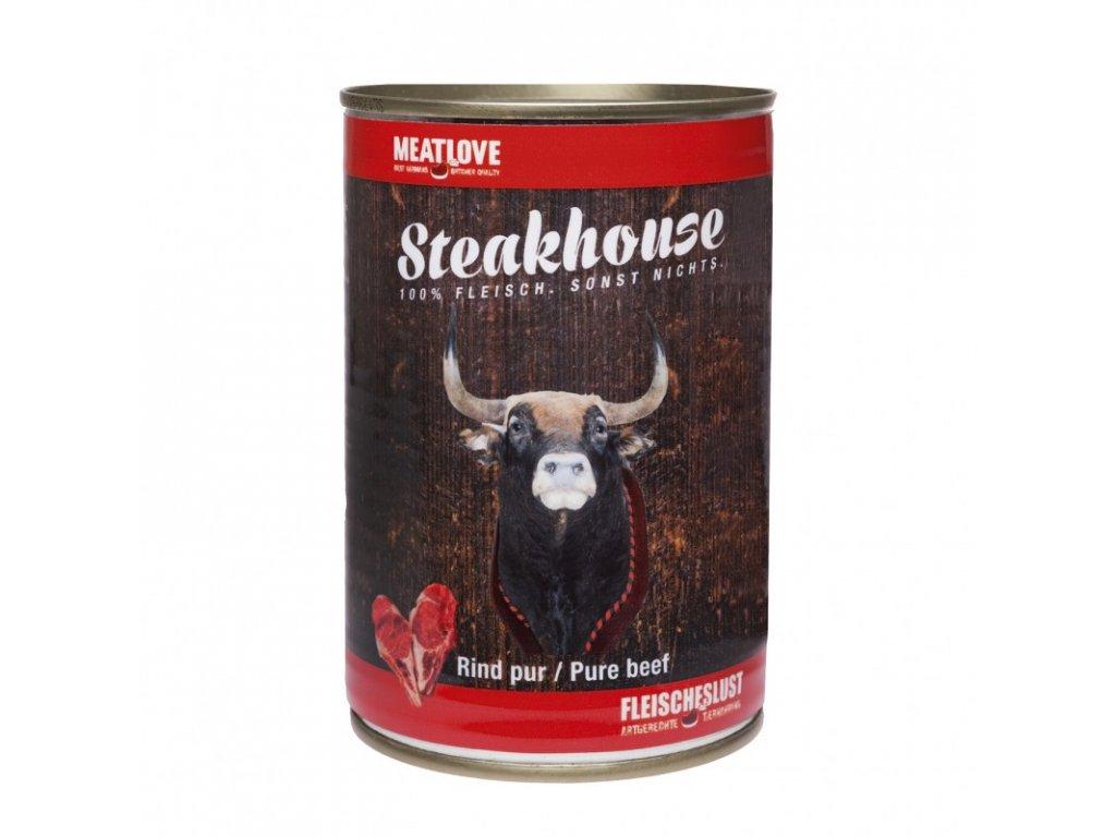 Konzervy STEAKHOUSE - 100% hovädzie mäso 400g