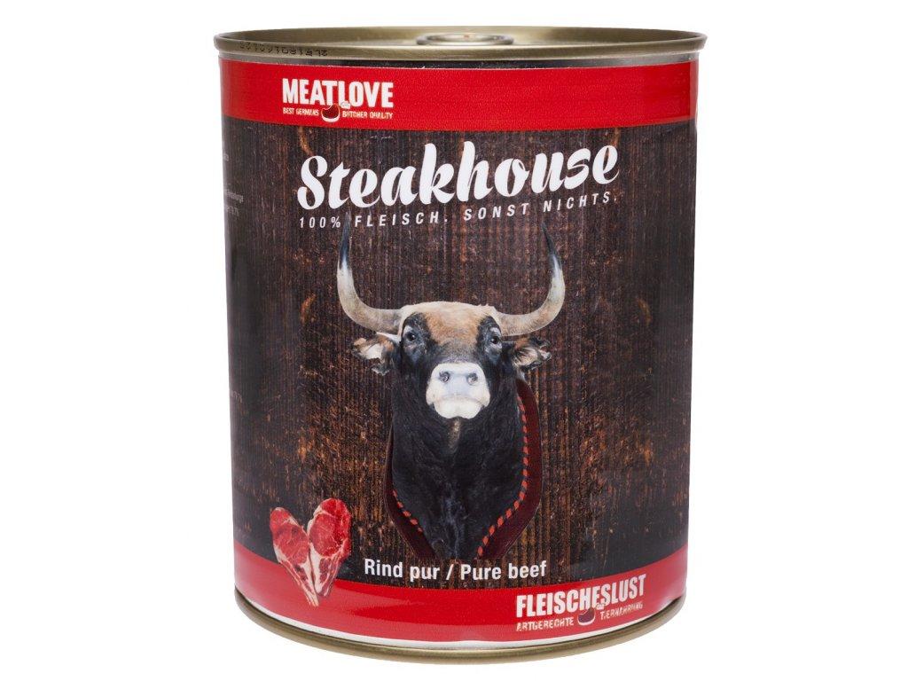 Konzervy STEAKHOUSE - 100% hovädzie mäso 800g