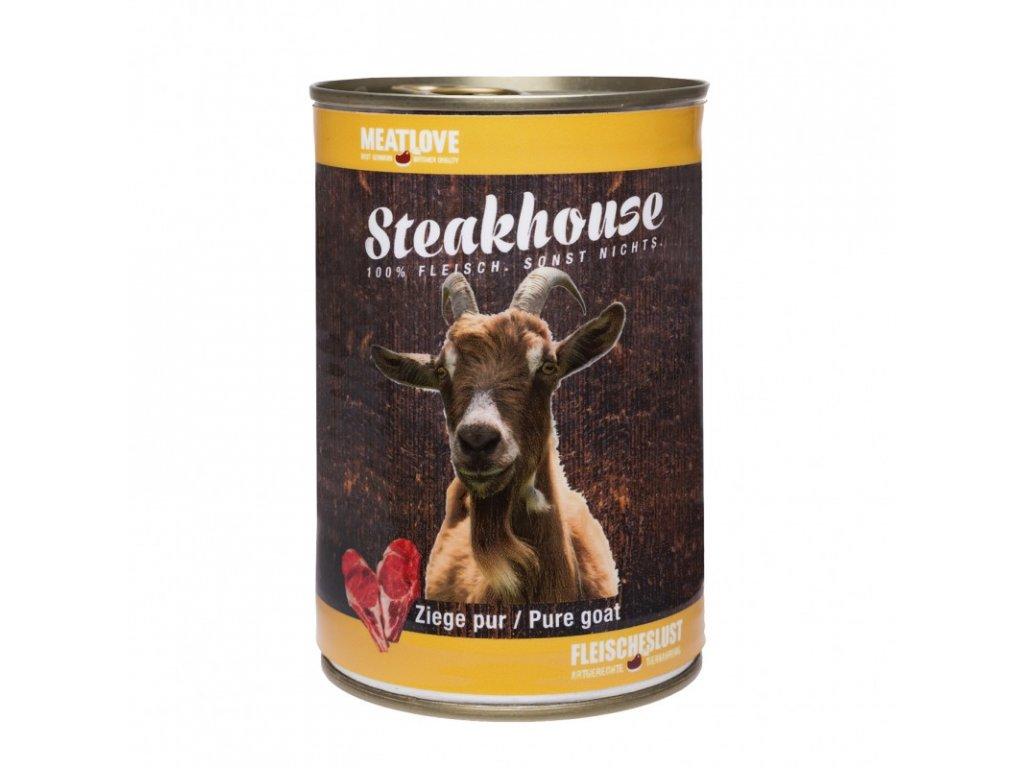 Konzervy STEAKHOUSE - 100% kozie mäso 400g