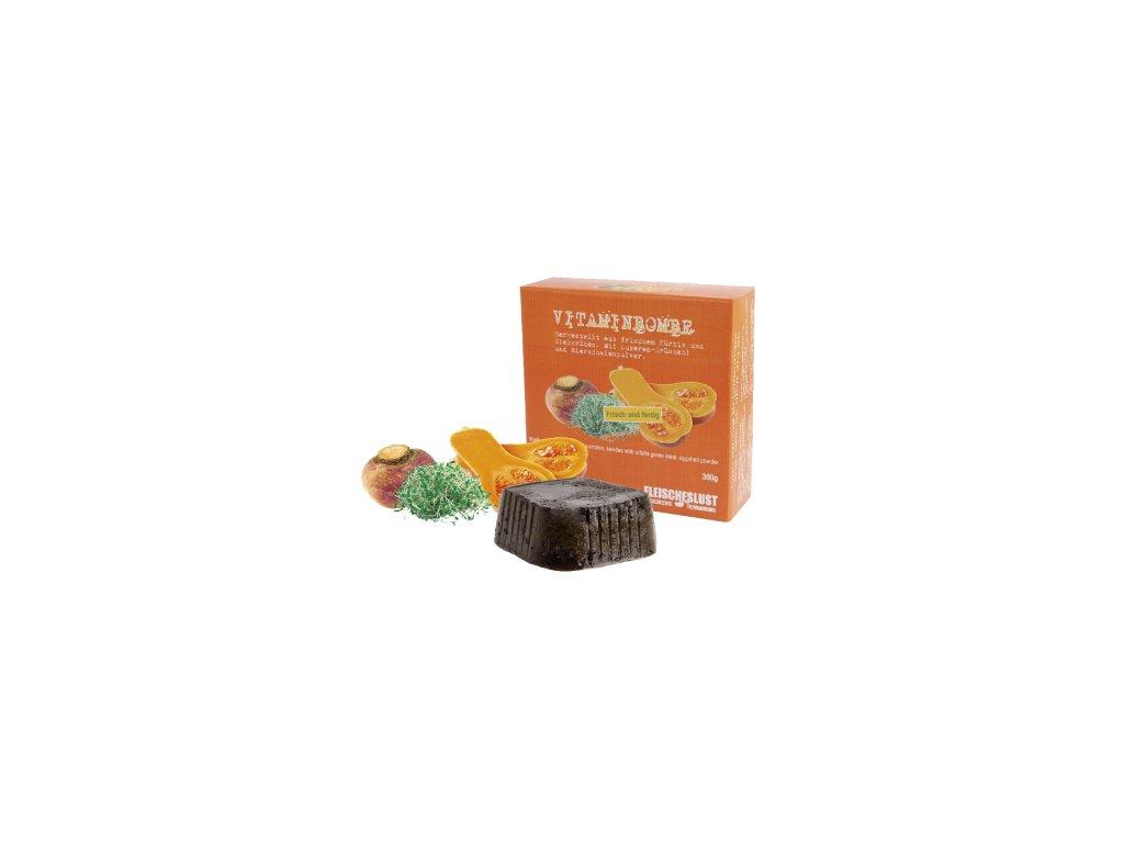 Zeleninová konzerva Vitaminbombe - kvaka, tekvica, lucerna 300g