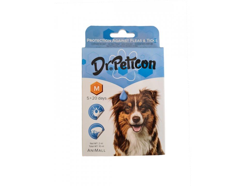 Dr.Peticon pipeta proti blcham a kliešťom pre stredné plemená psov 20 - 40kg