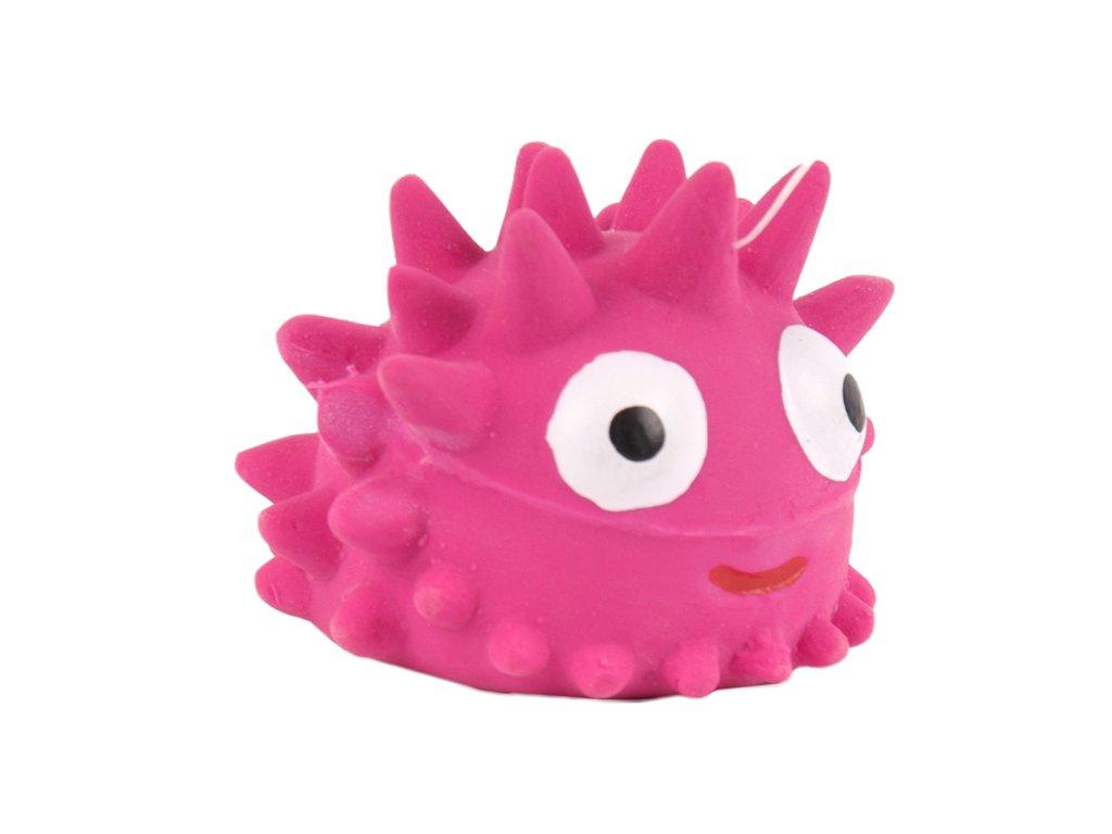 Pískacia hračka pre psa ježko 5cm