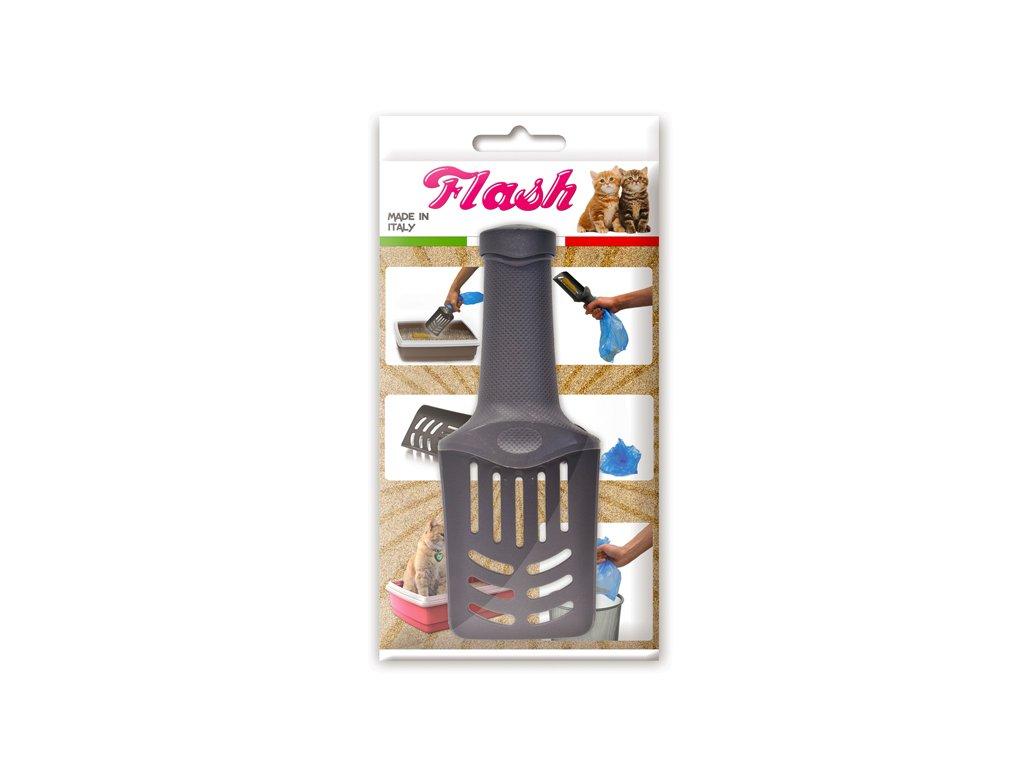 FLash - lopatka so sáčkom do mačacej toalety