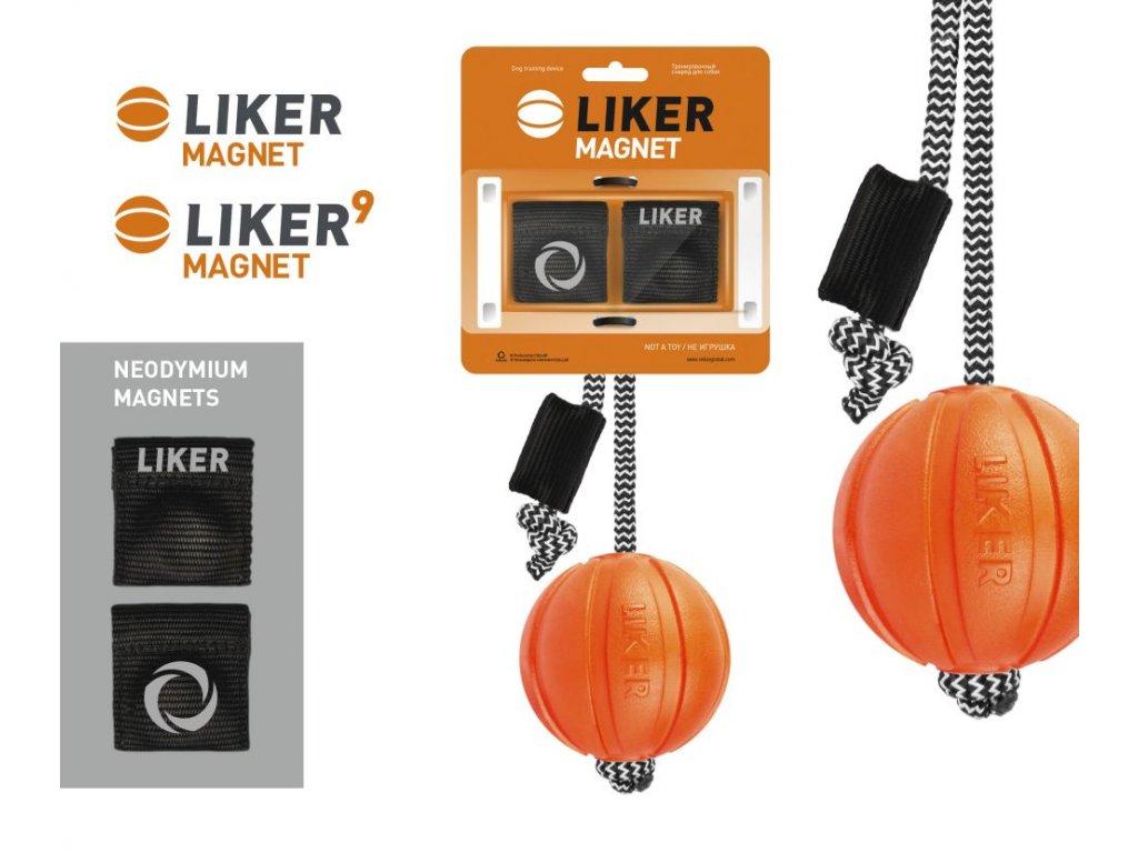 LOPTICKA S MAGNETOM NA  výcvik Liker 7 s magnetmi