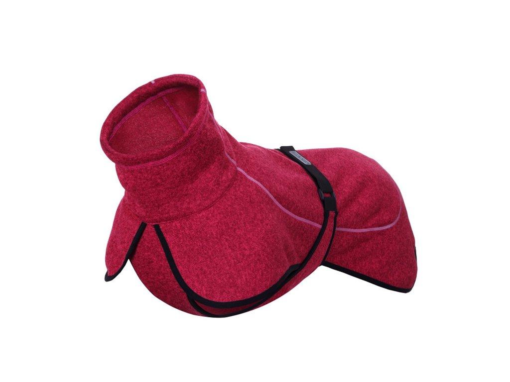 Pletený sveter Rukka Comfy ružový