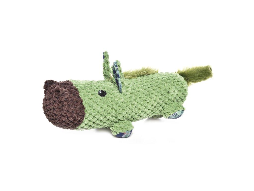 Plyšová pískacia hračka pre psa FAT BOYS kôň
