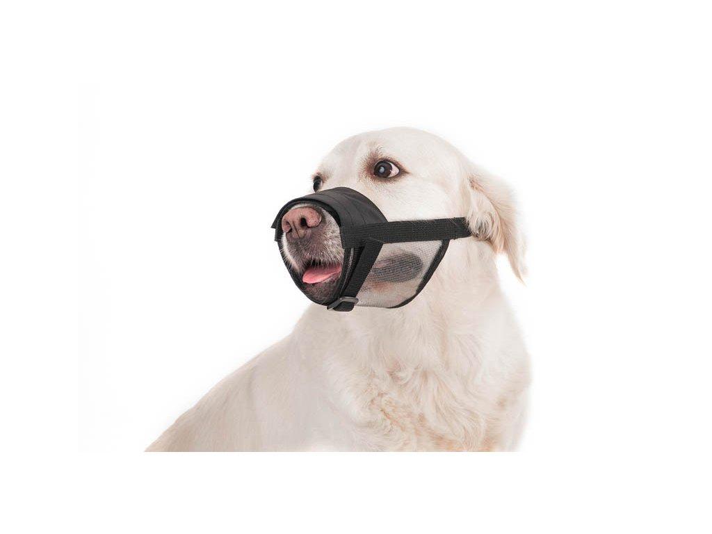 nastavitelny nahubok pre psa so sietkou