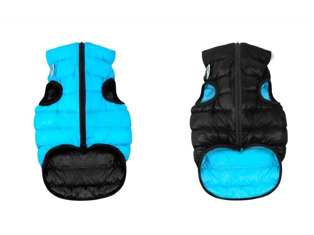 čierno modre oblecenie pre psa teple a lahke