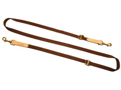 poľovnícke nastaviteľné vodidlo hnedé made in geramny