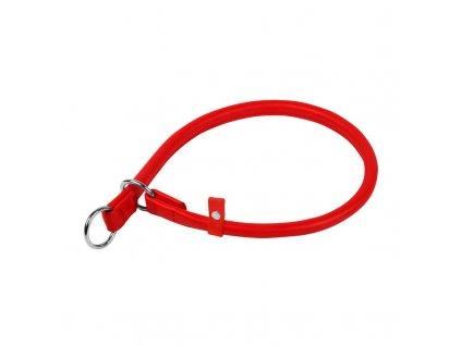 Okrúhly sťahovací červený obojok