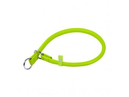 Okrúhly sťahovací zelený obojok