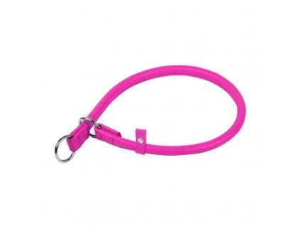 Okrúhly sťahovací ružový obojok
