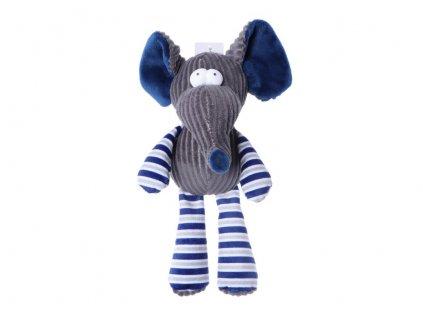 piskajuca hracka pre psa plysova slon
