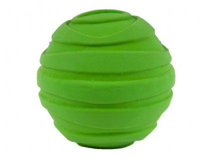 piskajuca lopta pre psa zelena