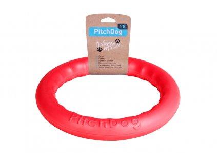 plavajúca hračka pre psa Pitch dog červená