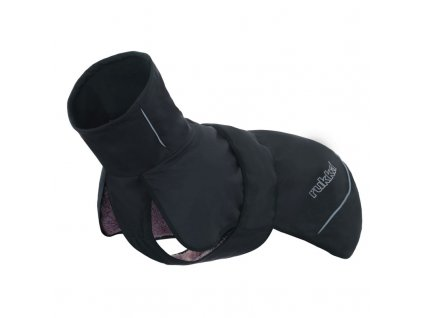 teplé oblečenie pre psa rukka windy čierne