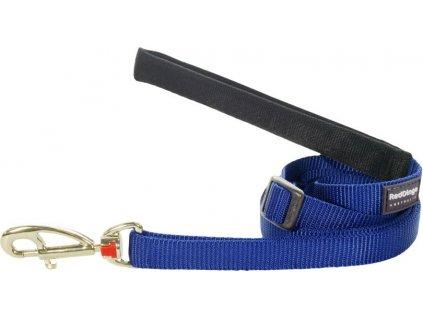 Nylonové vodítko Red Dingo tmavo modré (Šírka 25 mm)