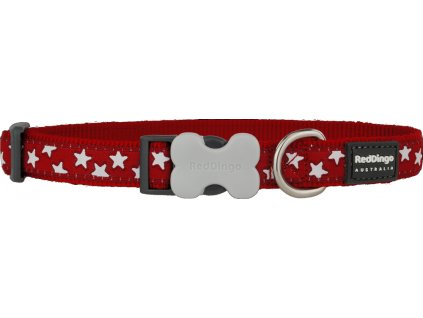 red dingo obojok hviezdickami cerveny