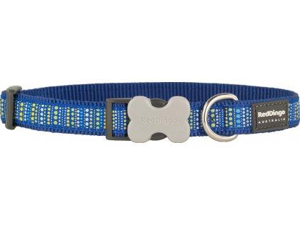 red dingo obojok modry vzor gulicky
