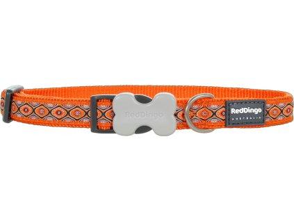 red dingo obojok hadie oci oranzovy