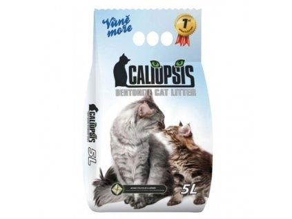 Podstieľka pre mačky Caliopsis vôňa Mora 5l