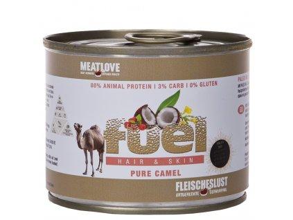 Fuel Paleo diéta na srsť a kožu z ťavieho mäsa 200g
