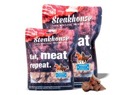 Mrazom sušené maškrty STEAKHOUSE - konské mäso 40g