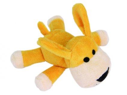 Plyšová pískacia hračka pre psa psík