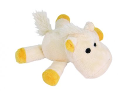 pískacia hračka koník malá biela