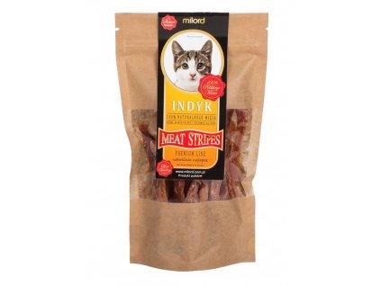 Pamlsky pre mačky kúsky morky