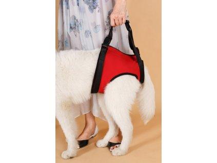 Pomôcka na zdvíhanie zadnej časti tela psa