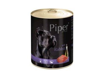 Konzerva pre psa Piper so zajacom 800g