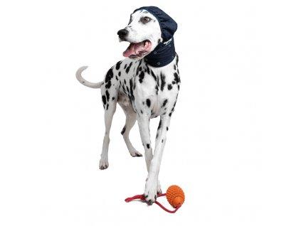 Pooperačný kryt hlavy a uší pre psa - ochranná ušianka