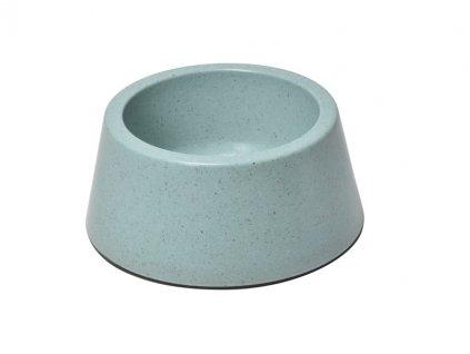 Bambusová miska pre psa  modrá