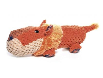 Plyšová pískacia hračka pre psa FAT BOYS lev