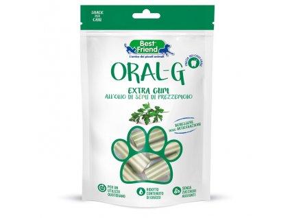 Dentálne pamlsky pre psy ORAL-G petržlenové na zuby a kĺby